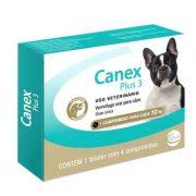 Vermífugo Ceva Canex Plus 3 para Cães - 4 Comprimidos
