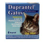 Vermífugo para Gatos Duprantel - 4 Comprimidos