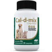 Suplemento Vetnil Cal-D-Mix 45 g 30 Comprimidos