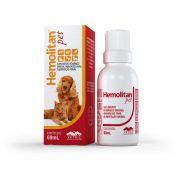 Suplemento Vitamínico Hemolitan Pet Gotas