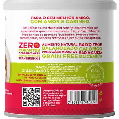 Alimento Natural Pet Delícia Frango com Maçã Fit 320 g