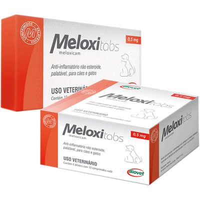 Anti-Inflamatório Meloxitabs Biovet 0,5 mg