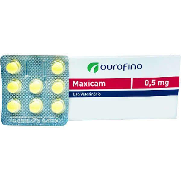 Anti-inflamatório OuroFino Maxicam Plus - 8 Comprimidos