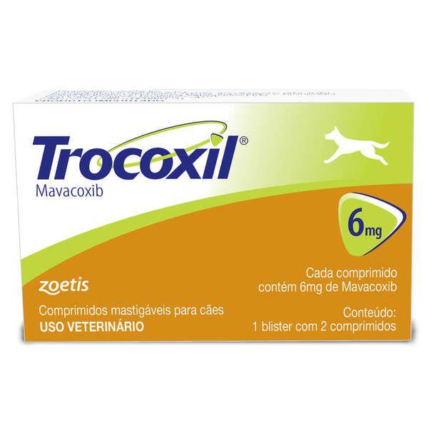Anti-inflamatório Zoetis Trocoxil de 2 Comprimidos
