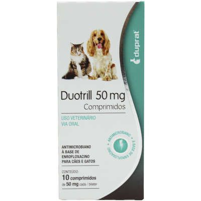 Antimicrobiano Duprat DuoTrill 50 mg - 10 comprimidos