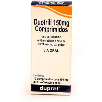 Antimicrobiano Duprat Duotrill para Cães - 150 mg