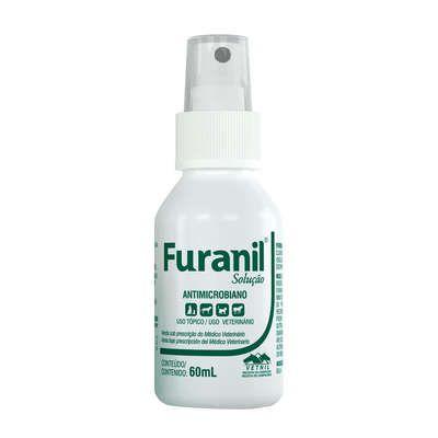 Antimicrobiano Vetnil Furanil Spray - 60 ml