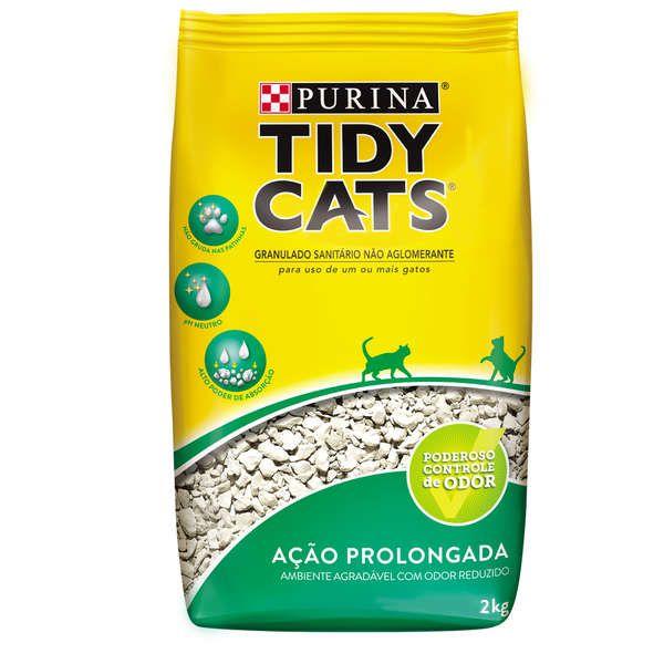 Areia Higiênica Nestlé Purina Tidy Cats para Gatos - 2 kg
