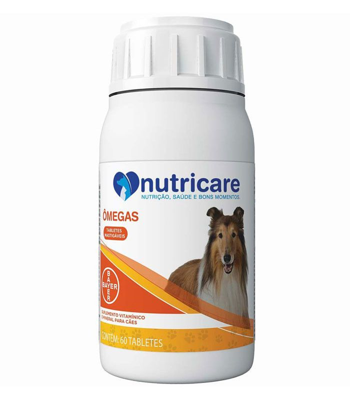 Suplemento Bayer Nutricare Omega com 60 Tabletes