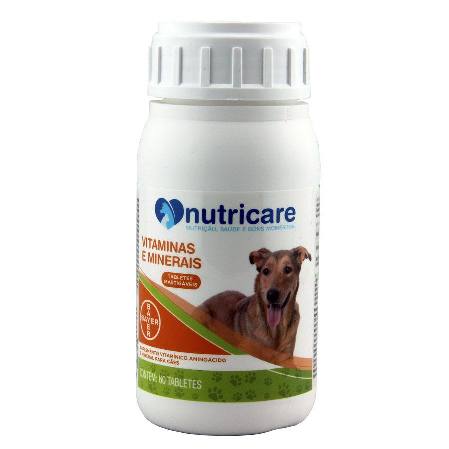 Suplemento Bayer Nutricare Vitaminas e Minerais com 60 Tabletes