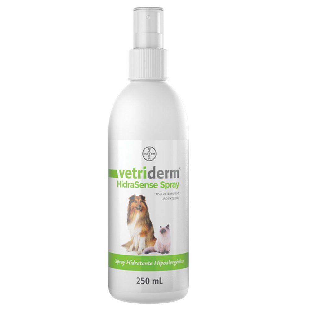 Spray Hidratante Bayer Vetriderm Hipoalergênico HidraSense 250 ml
