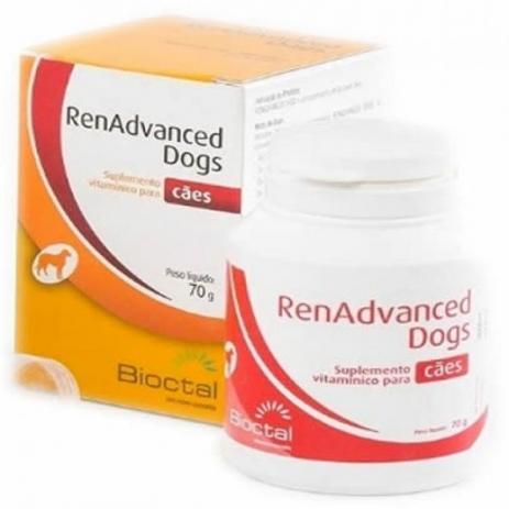 Suplemento Vitamínico Candioli RenAdvanced Dogs Tratamento Renal 70 g