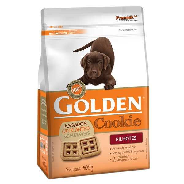 Biscoito Golden Cookie para Cães Filhotes - 400 g