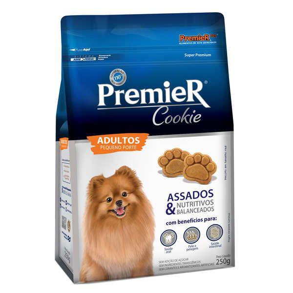 Biscoito Premier Pet Cookie para Cães Adultos Raças Pequenas - 250 g
