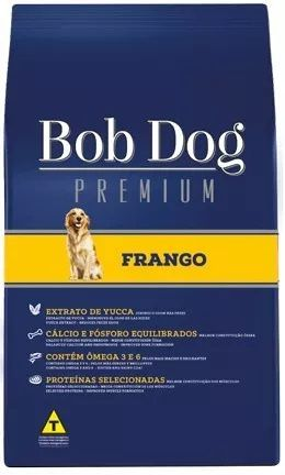 Ração Bob Dog Premium Frango para Cães Adultos