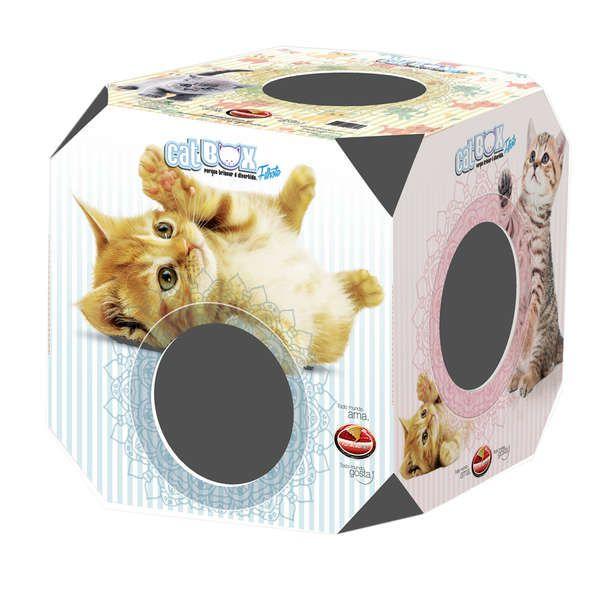 Brinquedo Furacão Pet Cat Box Filhotes