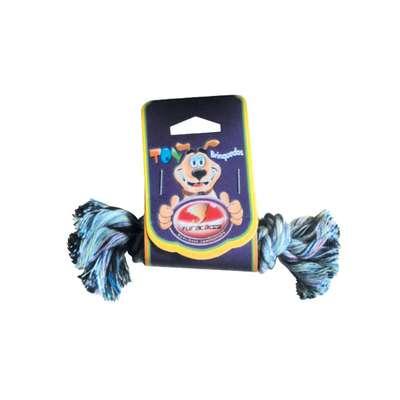 Brinquedo Furacão Pet Dental Bone Algodão com Nó