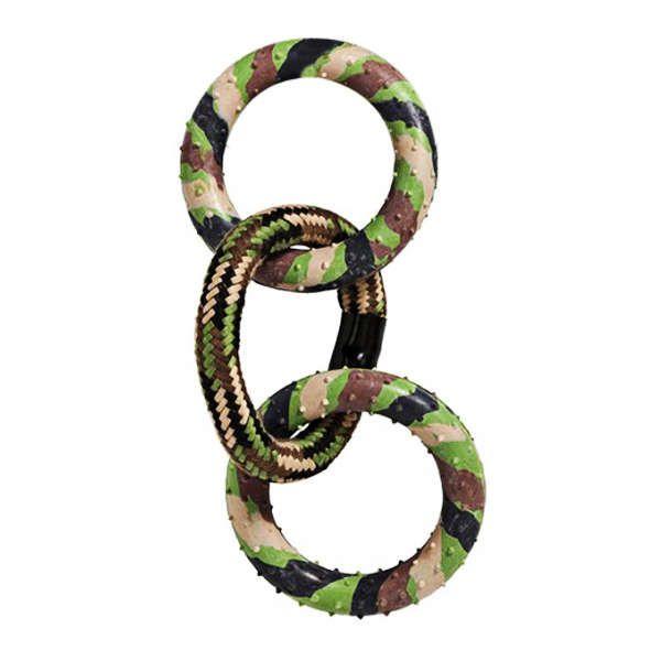 Brinquedo Jambo Corda Militar Triple Ring