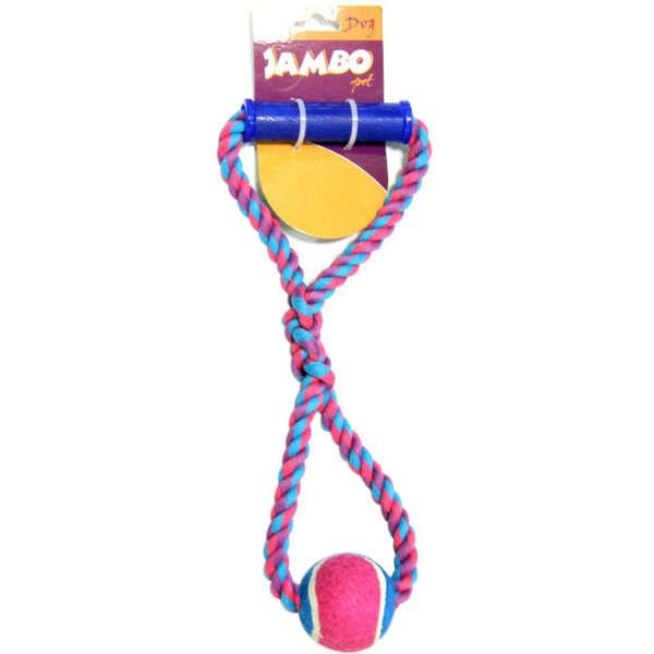 Brinquedo Jambo Corda Puxa Bola Tênis (8)