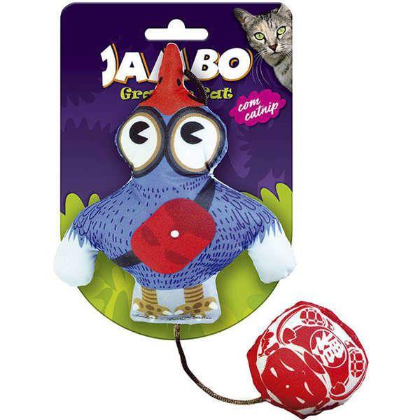 Brinquedo Jambo Graphic Cat Bird Azul