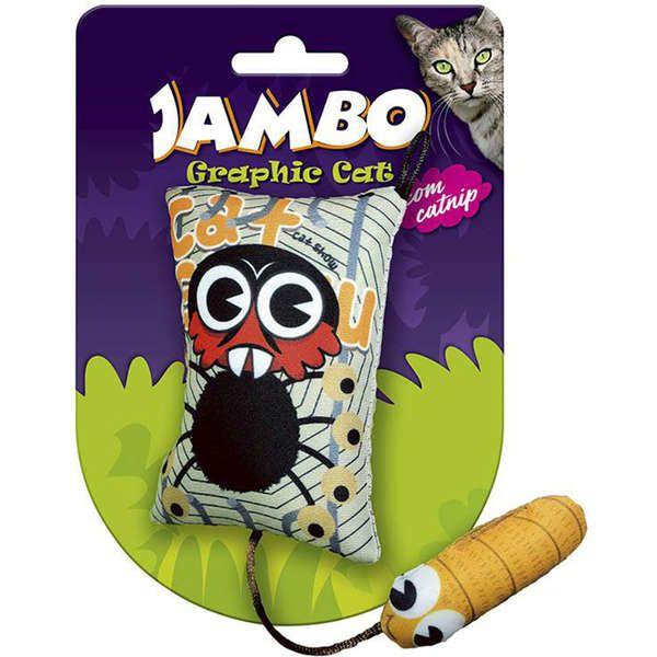 Brinquedo Jambo Graphic Cat Monkey