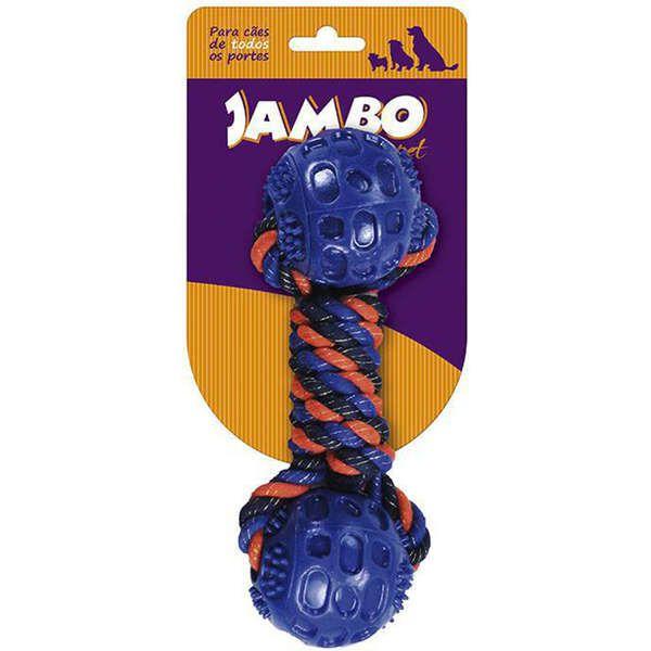 Brinquedo Jambo Mordedor com Corda Twisted Azul