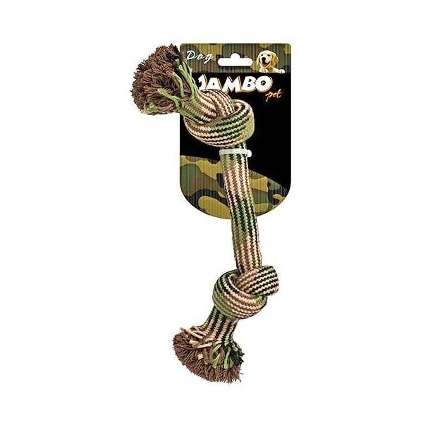 Brinquedo Jambo Mordedor de Corda Militar