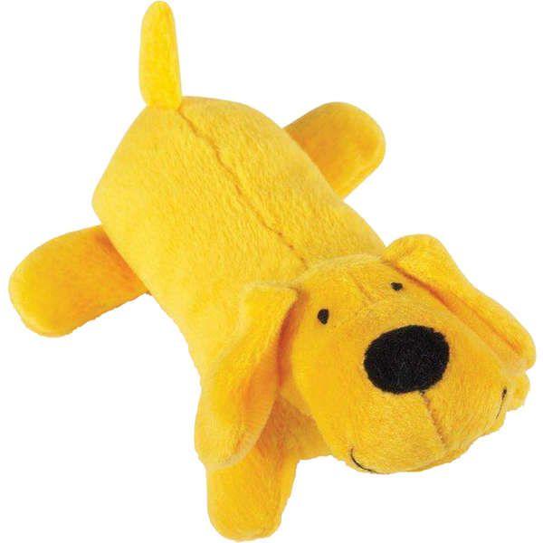 Brinquedo Jambo Mordedor Pelúcia Cachorrinho Amarelo