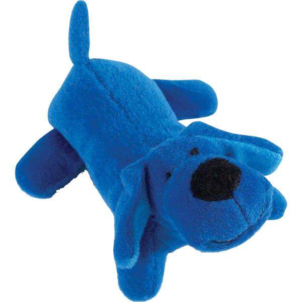 Brinquedo Jambo Mordedor Pelúcia Cachorrinho Azul