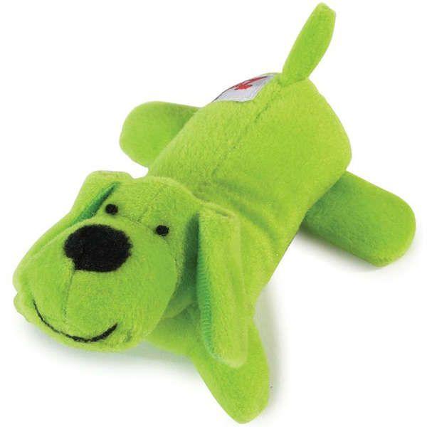 Brinquedo Jambo Mordedor Pelúcia Cachorrinho Verde