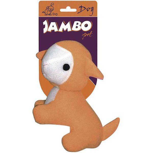 Brinquedo Jambo Mordedor Pelúcia Fun Ovelha Laranja