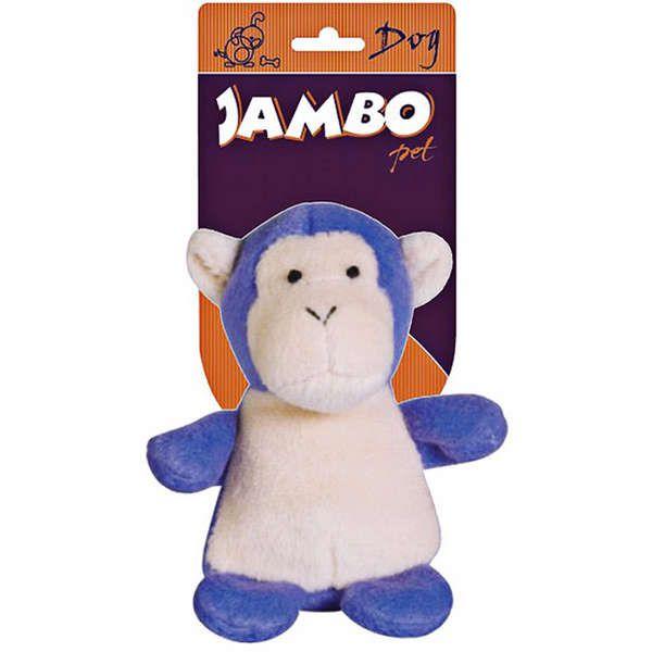 Brinquedo Jambo Mordedor Pelúcia Macaquinho Zoo - Lilás