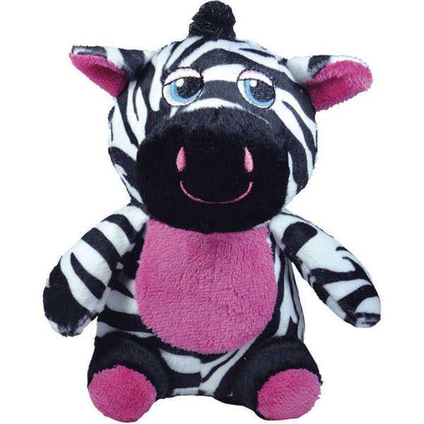 Brinquedo Jambo Mordedor Pelúcia Safari Zebra