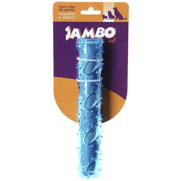 Brinquedo Jambo Mordedor Sticker TPR Oxford Azul