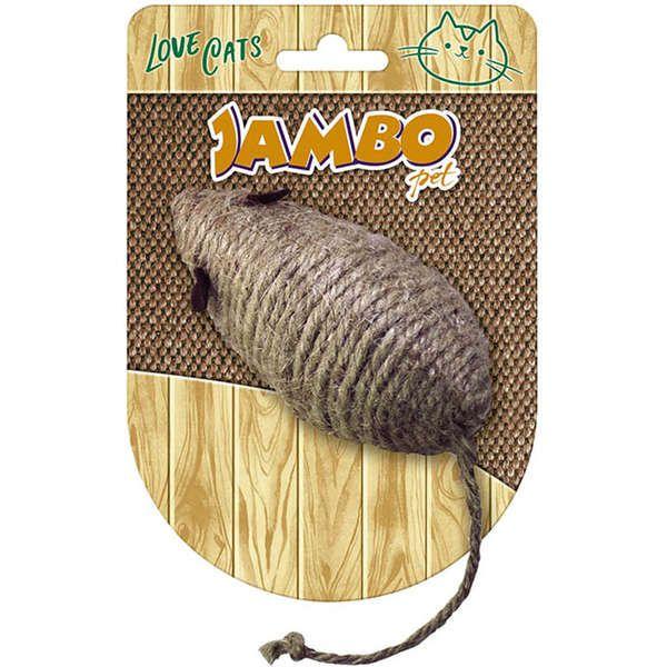 Brinquedo Jambo Mouse Cat Natural