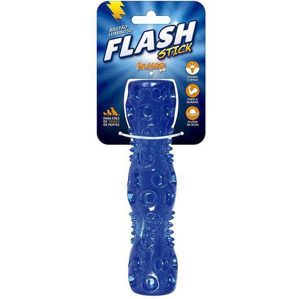 Brinquedo Jambo Stick Luminoso Flash Stick Azul