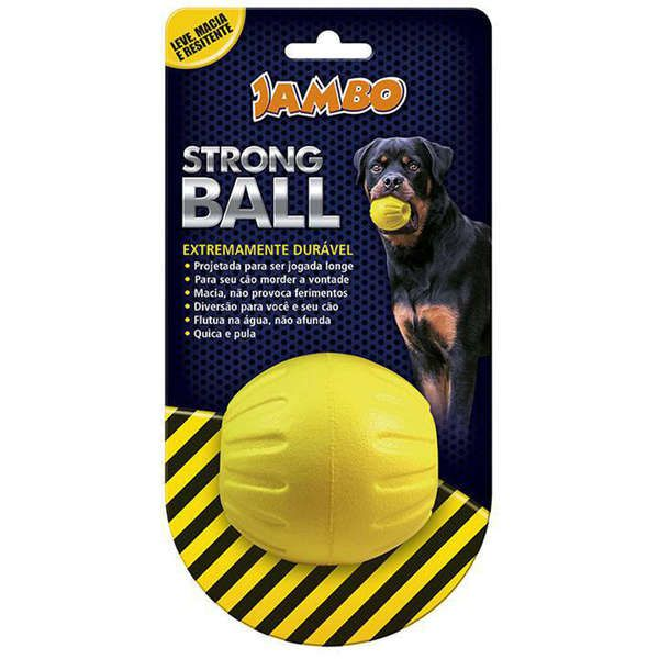 Brinquedo Jambo Strong Bola Amarela