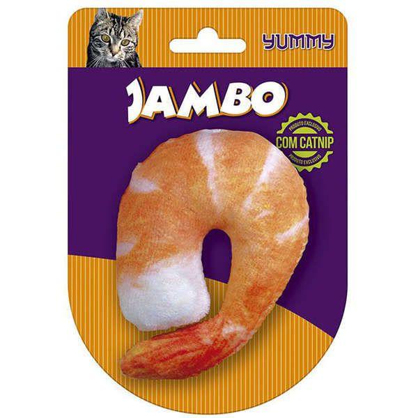 Brinquedo Jambo Yummy Cat Camarão