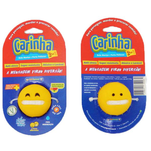 Brinquedo Pet Games Carinha Amarela