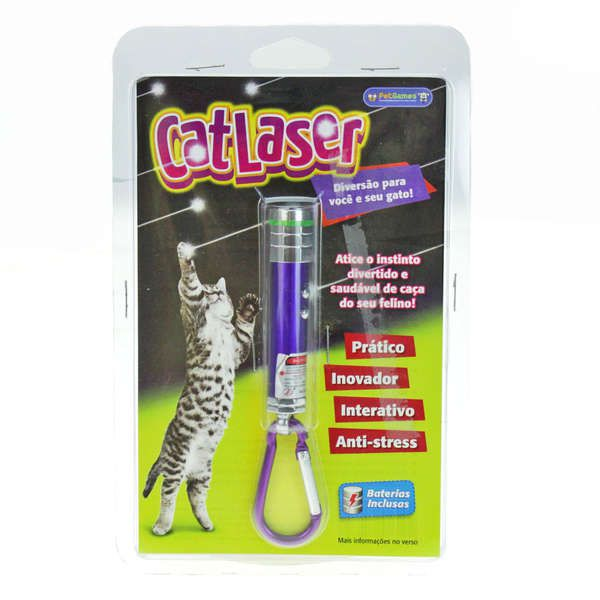 Brinquedo Pet Games Cat Laser - Cores Sortidas