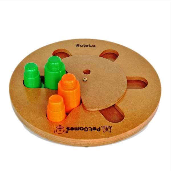 Brinquedo Pet Games Jogo Interativo Roleta