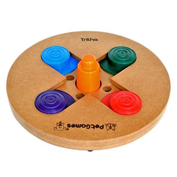 Brinquedo Pet Games Jogo Interativo Trilha
