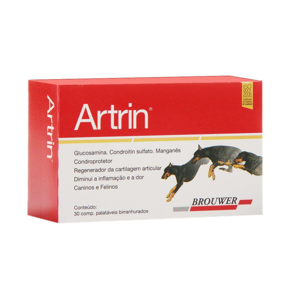 Anti-Inflamatório Brouwer Artrin Condroprotetor - 30 Comprimidos