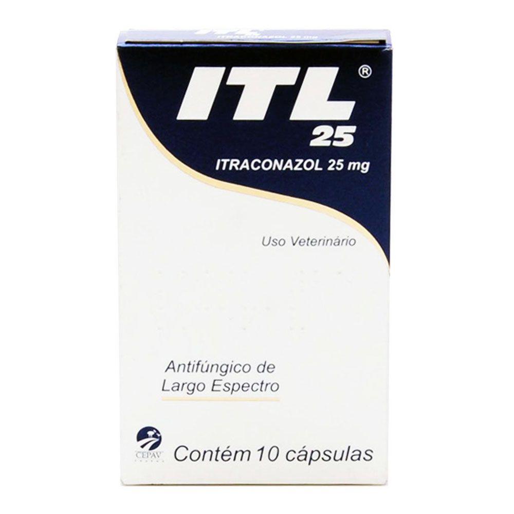 Antifúngico Cepav ITL Itraconazol 10 Comprimidos