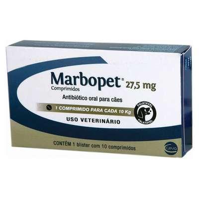 Antibiótico Ceva Marbopet 10 Comprimidos