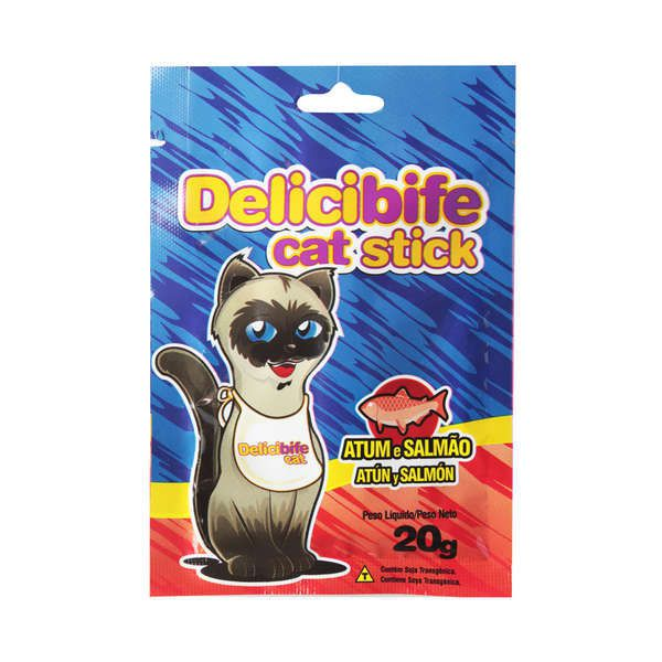 Delicibife Cat Stick Atum e Salmão