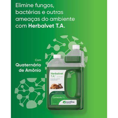 Desinfetante Bactericida Herbalvet T.A - 1 litro