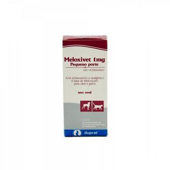 Anti-Inflamatório Duprat Meloxivet 10 comprimidos