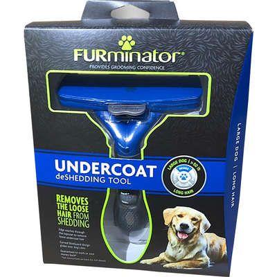 Escova Tira Pelo Furminator para Cães com Pelo Longo - Grande *foto ilustrativa