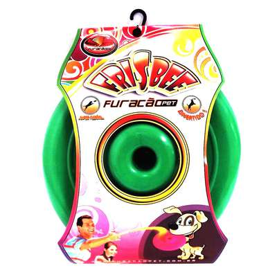 Frisbee de Borracha Furacão Pet